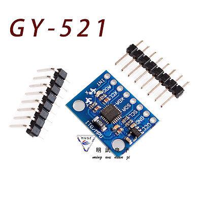 Mpu-6050 6dof 3 Axis Gyroscopeaccelerometer Module For Arduino Diy