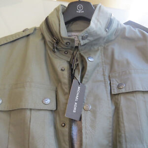 MICHAEL KORS- Mens Jacket slim fit Large-a must see!!