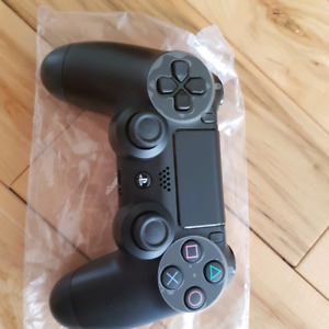 Brand new never used black ps4 controller
