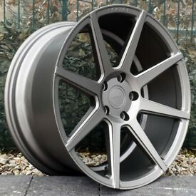 """19"""" Staggered Ispiri ISR8 on tyres for the F30 and F31 BMW 3 Series"""