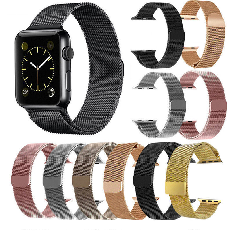 Stainless Steel Metal Band Bracelet Replacement 4 Apple iWatch Series 4 40/44mm Jewelry & Watches