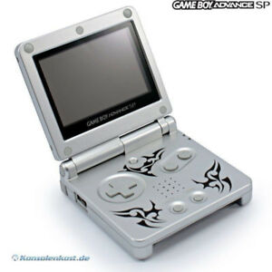 Gameboy Advanced SP 001 Tribal