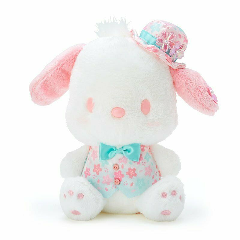 Pochacco Plush Doll Sakura Sanrio Japan 2021