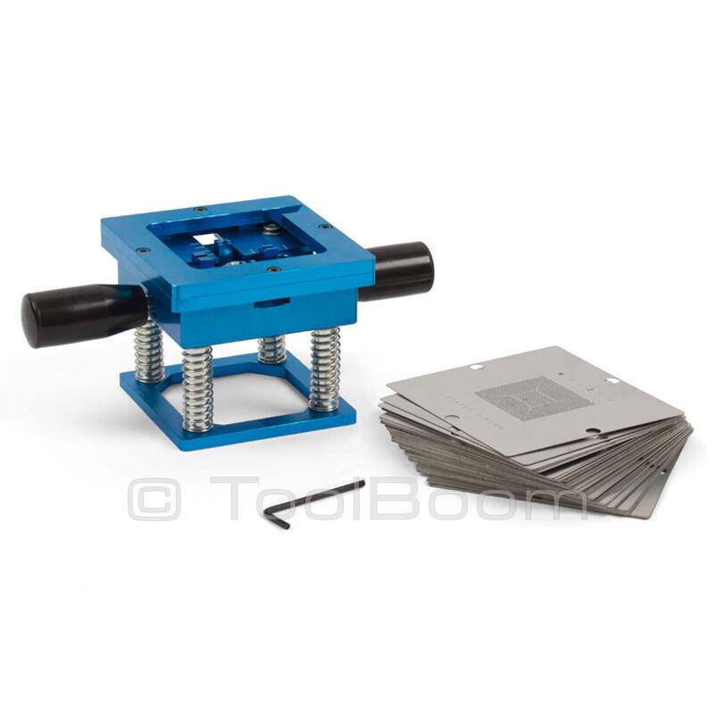 ACHI LP-56 BGA Reballing Station 56 Stencils (0.45 mm; 0.5 mm; 0.6 mm; 0.76 mm)
