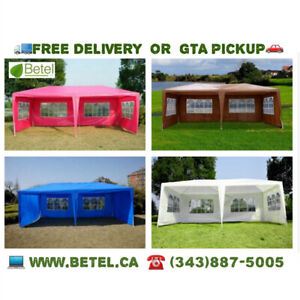 10 x 20 Wedding Party Canopy Tent with Removable Sidewalls