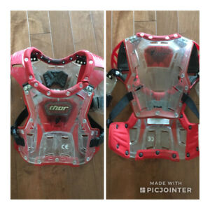 Thor yourh chest protector (size small)