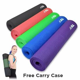 Yoga Mat 6mm + Free Carry Case Daddy Supplements