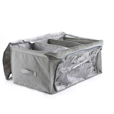 Reißverschluss-kasten (Aufbewahrung Organizer Tasche Reißverschluss Kasten für Steppdecke Kissen Haus)