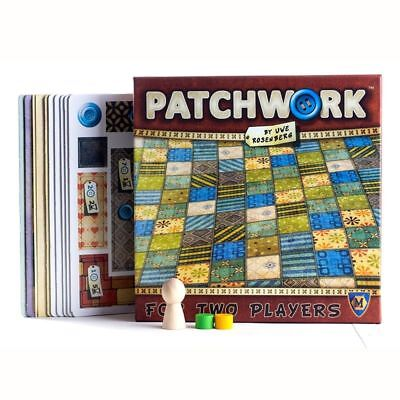 Patchwork Board Game Patchwork 2 Players Family Best Party Gift Children Battle