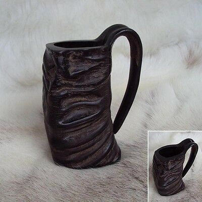 Natural Buffalo Horn Drinking Mug - Medieval / Viking Re-Enactment