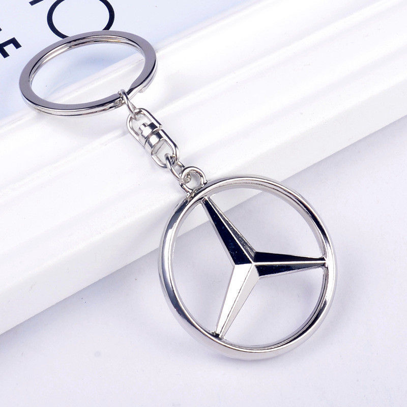 high quality Mercedes-Benz Style Car Keychain Part Collect KeyRing key chain gob