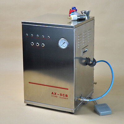 Dental 10l Steam Cleaner Cleaning Machine Lab Equipment For Dentist New