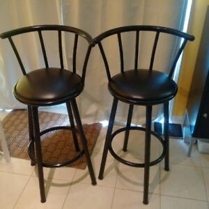 Free barstools and rocking chair