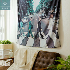 table cloth Wall hangings Beatles Home Tapestries polyester curtainceiling GIFT