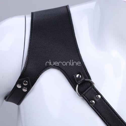 Dessous Strapsgürtel aus PU   Leder mit Riemen für Strümpfe