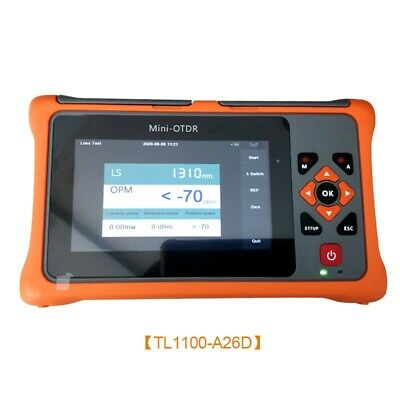 TL1100-A26D 1310/1550NM 26/24DB OTDR Tester Optical Time Domain Reflectometer ts