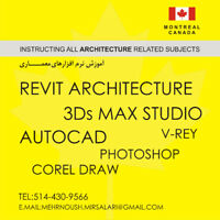 Architecture design and softwares related. (Tutoring)