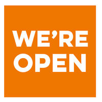 We're Open for Business! Come Visit Us!