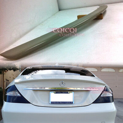 Unpainted MERCEDES BENZ 05-10 W219 CLS AMG type trunk spoiler @US