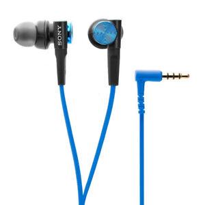 Sony MDRXB50AP/L Extra Bass Earbud Headphones(Blue)
