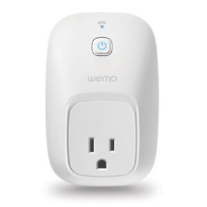WeMo Switch, Compatible with Amazon Echo (Works with Amazon Alex