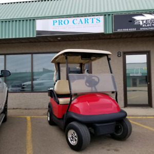 Pro Carts Red Deer - 2013 Club Car Precedent 48 Volt Golf Cart