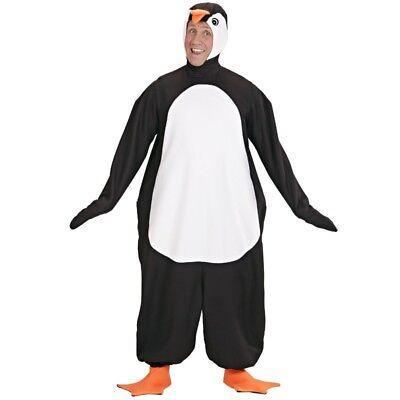 PINGUIN PLÜSCH KOSTÜM M/L 175 cm Unisex Karneval Fasching Tiere Zoo - Plüsch Pinguin Kostüm