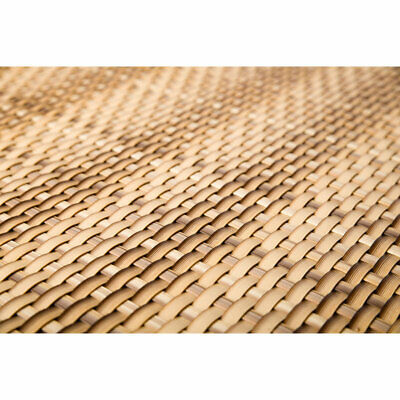 Artificial Rattan Weave Privacy Screening Balcony Fence Garden 1m x 20m Sand