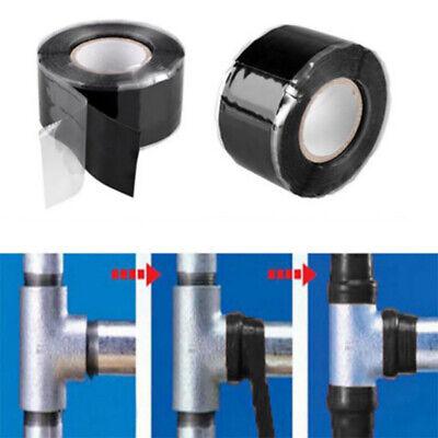 Super Strong Waterproof Stop Leak Seal Repair Tape Self Fiber Fix Adhesive Tape