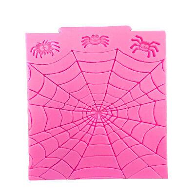 Halloween Spider Web Silicone Fondant Mould Cake Decorating Tool Chocolate - Spider Web Cake Halloween