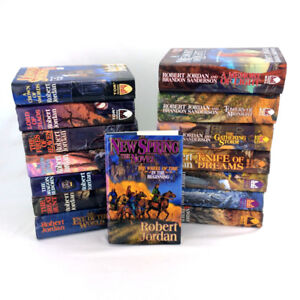Wheel Of Time Books Complete Series 1-14 + Prequel Hardcover Set