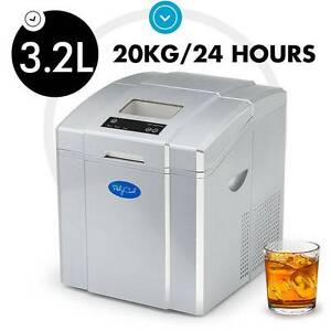 3.2L Portable Ice Cube Maker Machine Commercial Automatic Keilor East Moonee Valley Preview