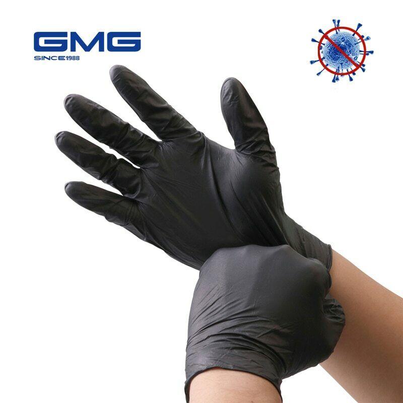 nitrile gloves black 6pcs lot waterproof allergy