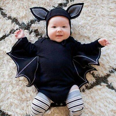 Hochwertig Neuheit Halloween Baby Mädchen Jungen Batman Kostüm Cotton Romper Typ