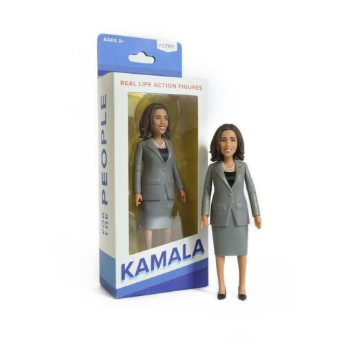 """Kamala Harris Action Figure 6"""" New in BOX from FCTRY"""