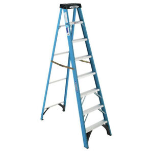Werner 8 ft. Fiberglass Step Ladder