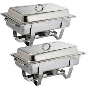 Chafing Dish Twin Pack - Catering Equipment Campbellfield Hume Area Preview