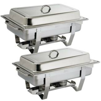 Chafing Dish Twin Pack - Catering Equipment