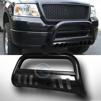 Fits 97-03 Ford F150/F250/Expedition Blk Bull Bar Brush Push Bumper Grille -