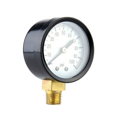 New Air Pressure Gauge Air Compressor Hydraulic 0-100 Psi 0-60 Psi 18 Sfg