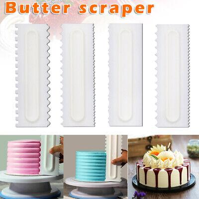 4stk Teigschaber Backen Spatel Kuchen schaber Gebäck DIY Werkzeug Küche Neu KI Backen Kuchen