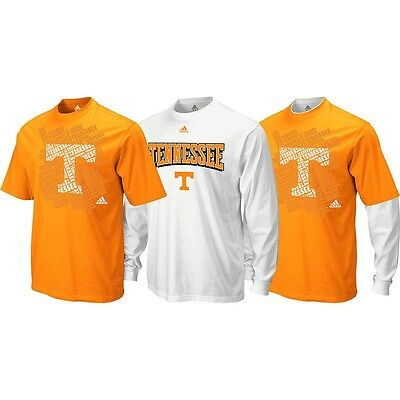 (Tennessee Volunteers ADIDAS Combo Pack (1) Longsleeve & (1) T Shirt Men's)