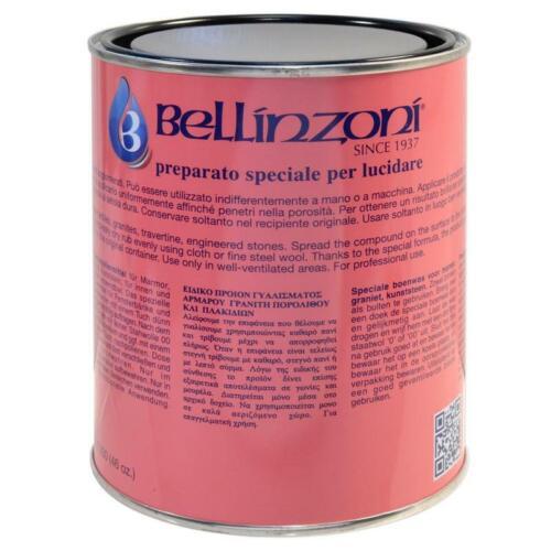 Bellinzoni Paste Wax 250ml (Clear) - For Marble & Granite