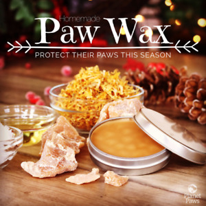 all natural beeswax for making your own dog paw wax