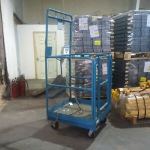 Used forklift man cages - 2 available