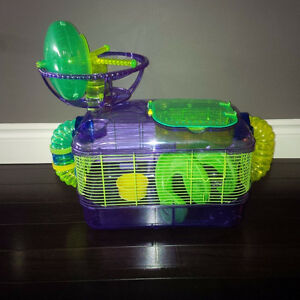 Small animal cage (hamster, gerbil, mice)