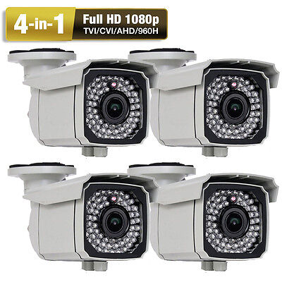 TVI 2.6MP 1080P 66IR 2.8-12mm Varifocal Lens of  OSD Security Camera big house 12mm Lens Bullet Housing