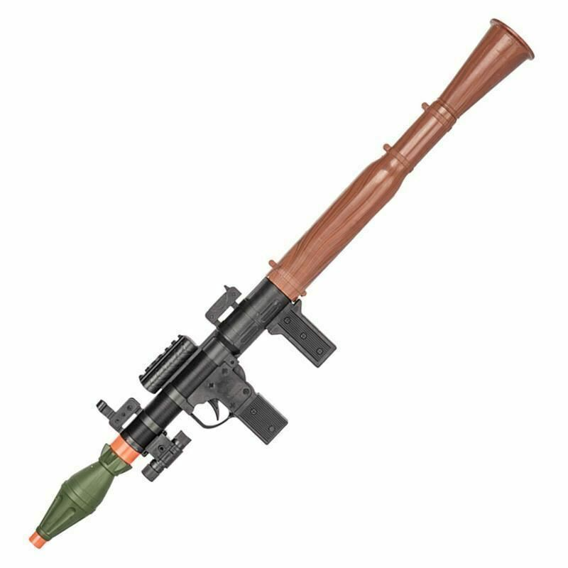 New P16385A Dummy Bazooka RPG With Laser Spring Powered Airsoft 175 FPS