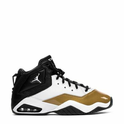 Men's Jordan B'Loyal Basketball Shoes in White/Black/Metallic Gold