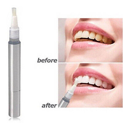 New Oral Care White Teeth Whitening Pen Bleach Cleaning Tooth Gel Whitener 1pcs on Rummage